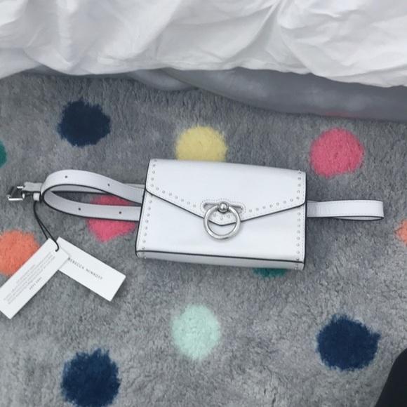 Rebecca Minkoff Jean belt bag w/ studs